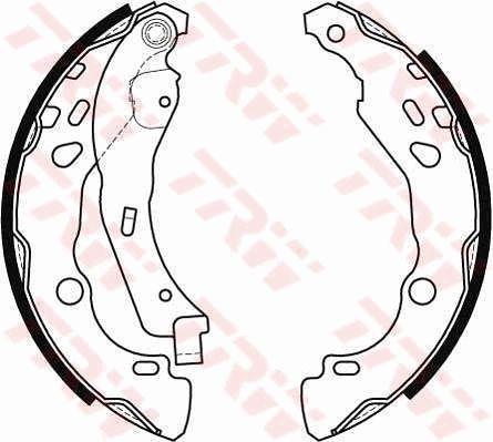 Acheter Sabot de frein Largeur: 38mm TRW GS8455 à tout moment