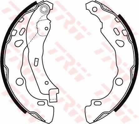 Acheter Kit de freins à tambours Largeur: 38mm TRW GS8455 à tout moment