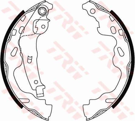 Original Bremsanlage / ABS / ESP GS8480 Opel