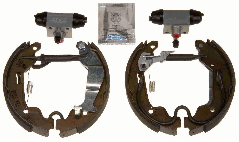 Original OPEL Bremsbacken für Trommelbremse GSK1688