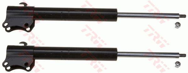 JGM429T TRW TWIN Hinterachse, Gasdruck, Zweirohr, Federbein, oben Stift Länge: 561mm, Ø: 45mm, Ø: 45mm Stoßdämpfer JGM429T günstig kaufen