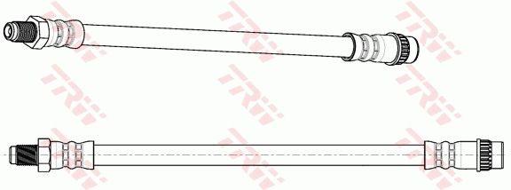 PHA270 Bremsschlauch TRW Test