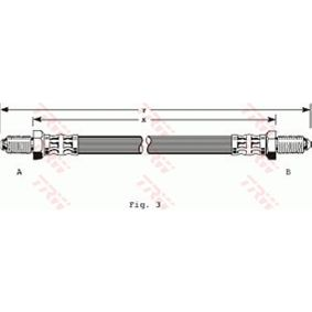 PHC134 TRW Länge: 330mm, Gewindemaß 1: M10x1 Bremsschlauch PHC134 günstig kaufen