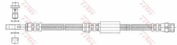 PHD1014 Bremsschlauch TRW Test