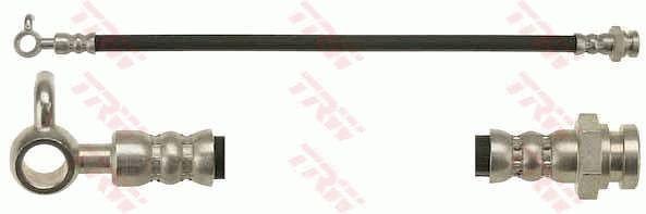 MAZDA MX-5 2016 Rohre und Schläuche - Original TRW PHD646 Länge: 360mm, Gewindemaß 1: M10x1, Gewindemaß 2: Banjo