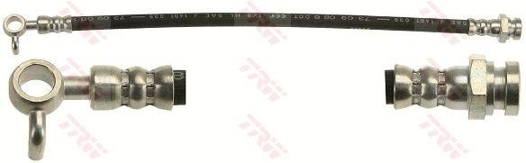MAZDA MX-5 2018 Rohre und Schläuche - Original TRW PHD647 Länge: 360mm, Gewindemaß 1: M10x1, Gewindemaß 2: Banjo