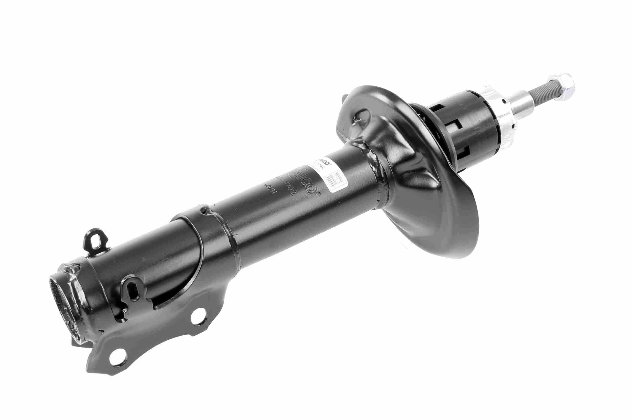 Купете V10-1702 VAICO предна ос, маслен, CST99, макферсън, отгоре щифт, скоба отдолу Амортисьор V10-1702 евтино
