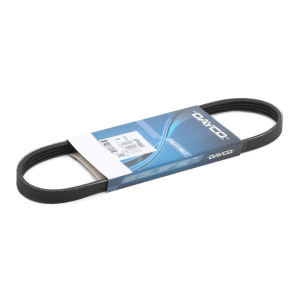 Car spare parts ALFA ROMEO MITO 2012: V-Ribbed Belts DAYCO 4PK668 at a discount — buy now!