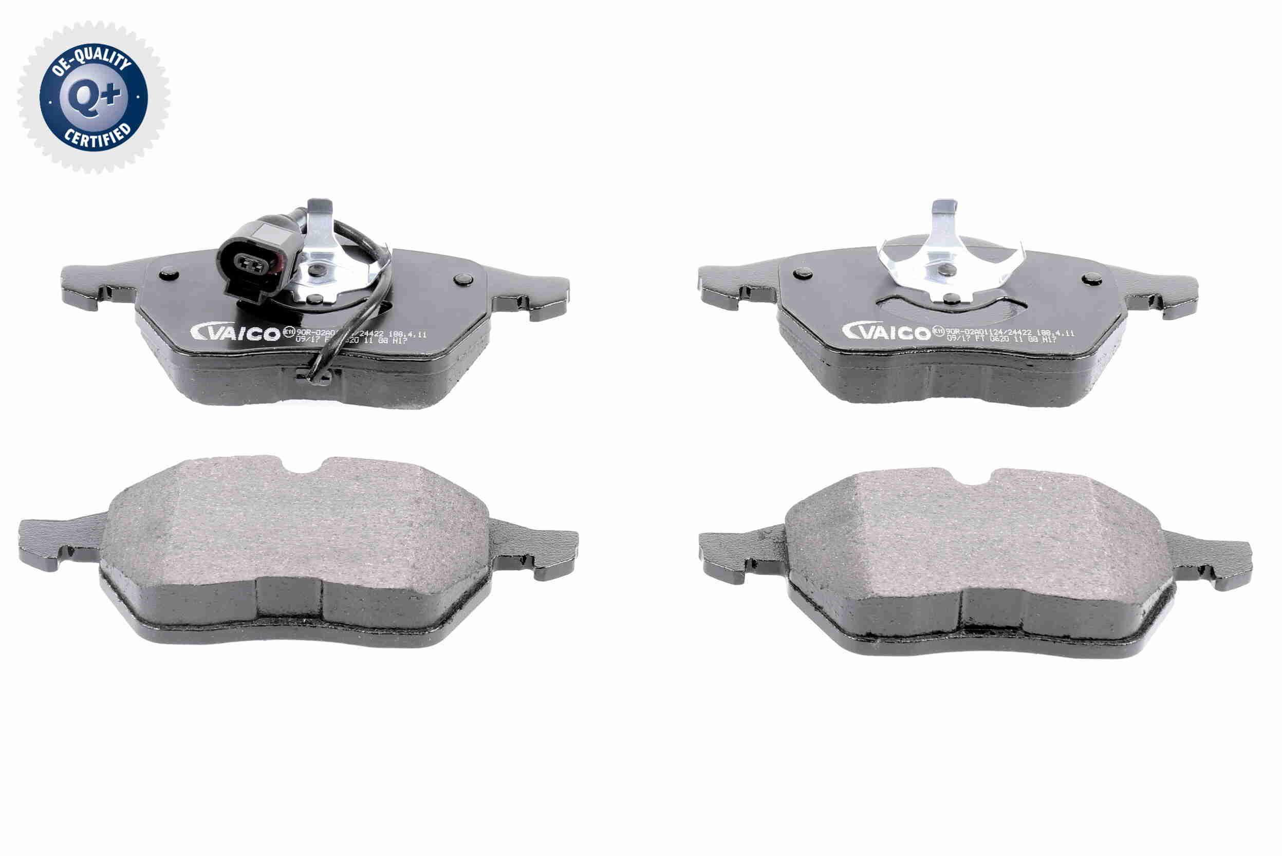 Bremsbelagsatz Scheibenbremse VAICO V10-8132
