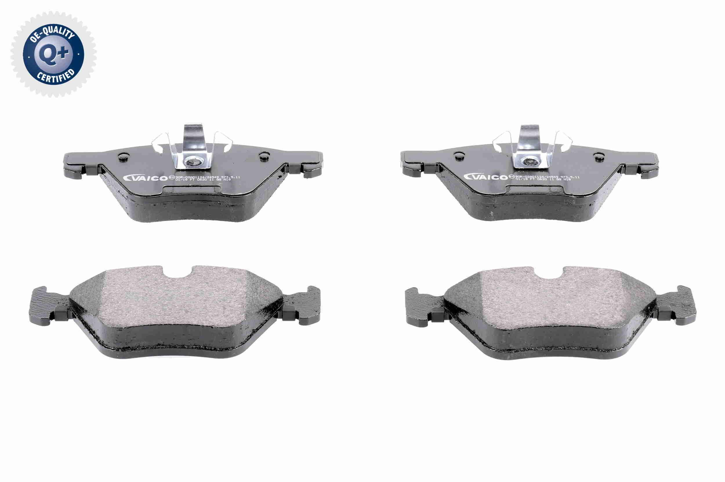 Bremsbelagsatz Scheibenbremse VAICO V20-8155