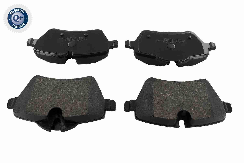 WVA23985 VAICO Q+, Erstausrüsterqualität, Vorderachse, exkl. Verschleißwarnkontakt, für Verschleißwarnanzeiger vorbereitet Höhe 1: 71,3mm, Höhe 2: 63,9mm, Höhe: 64mm, Breite: 131,6mm, Dicke/Stärke: 17,8mm Bremsbelagsatz, Scheibenbremse V20-8160 günstig kaufen