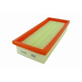 V24-0017 VAICO Original VAICO Qualität Länge: 281mm, Breite: 123mm, Höhe: 48,5mm Luftfilter V24-0017 günstig kaufen