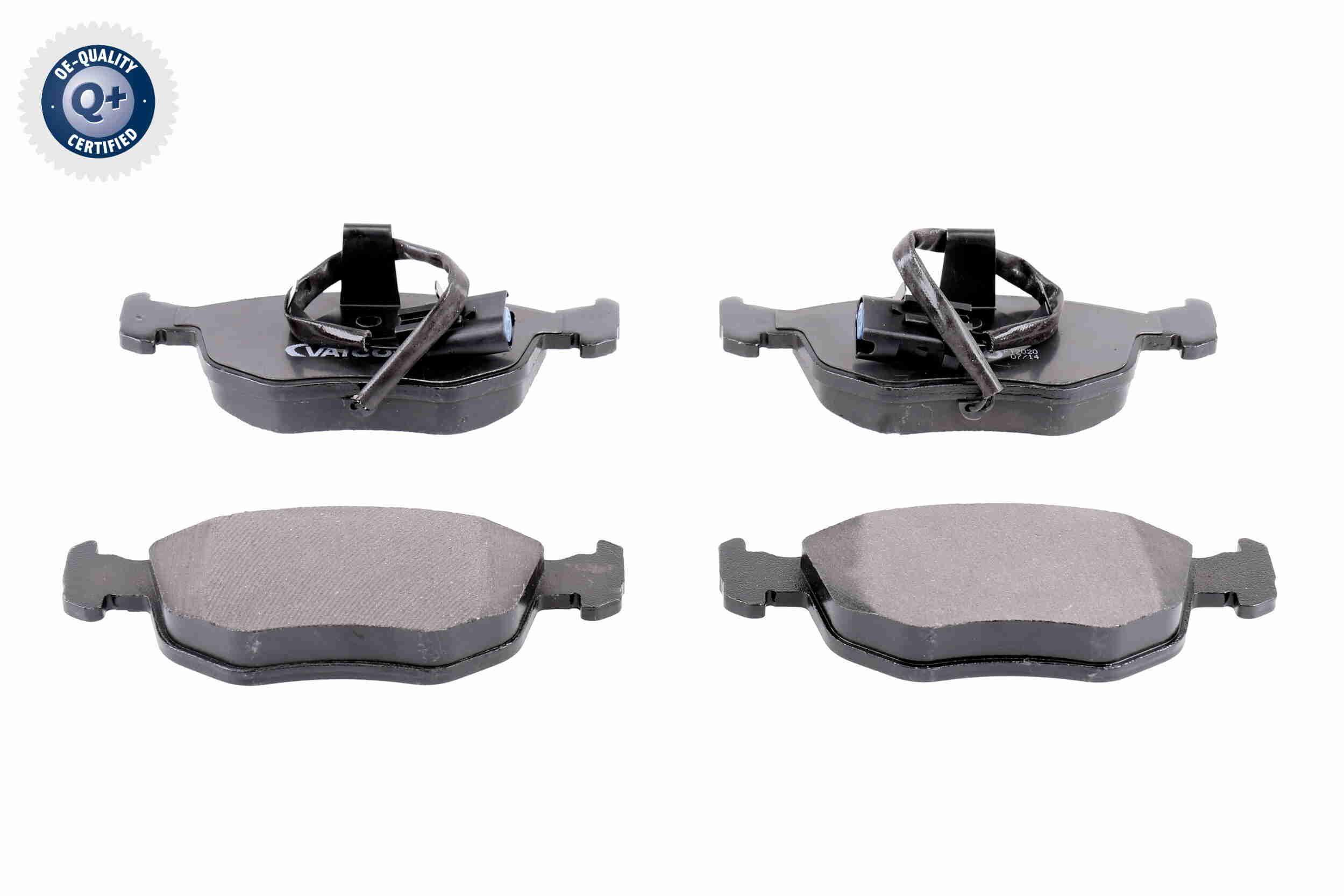 Bremsbelagsatz Scheibenbremse VAICO V25-0164