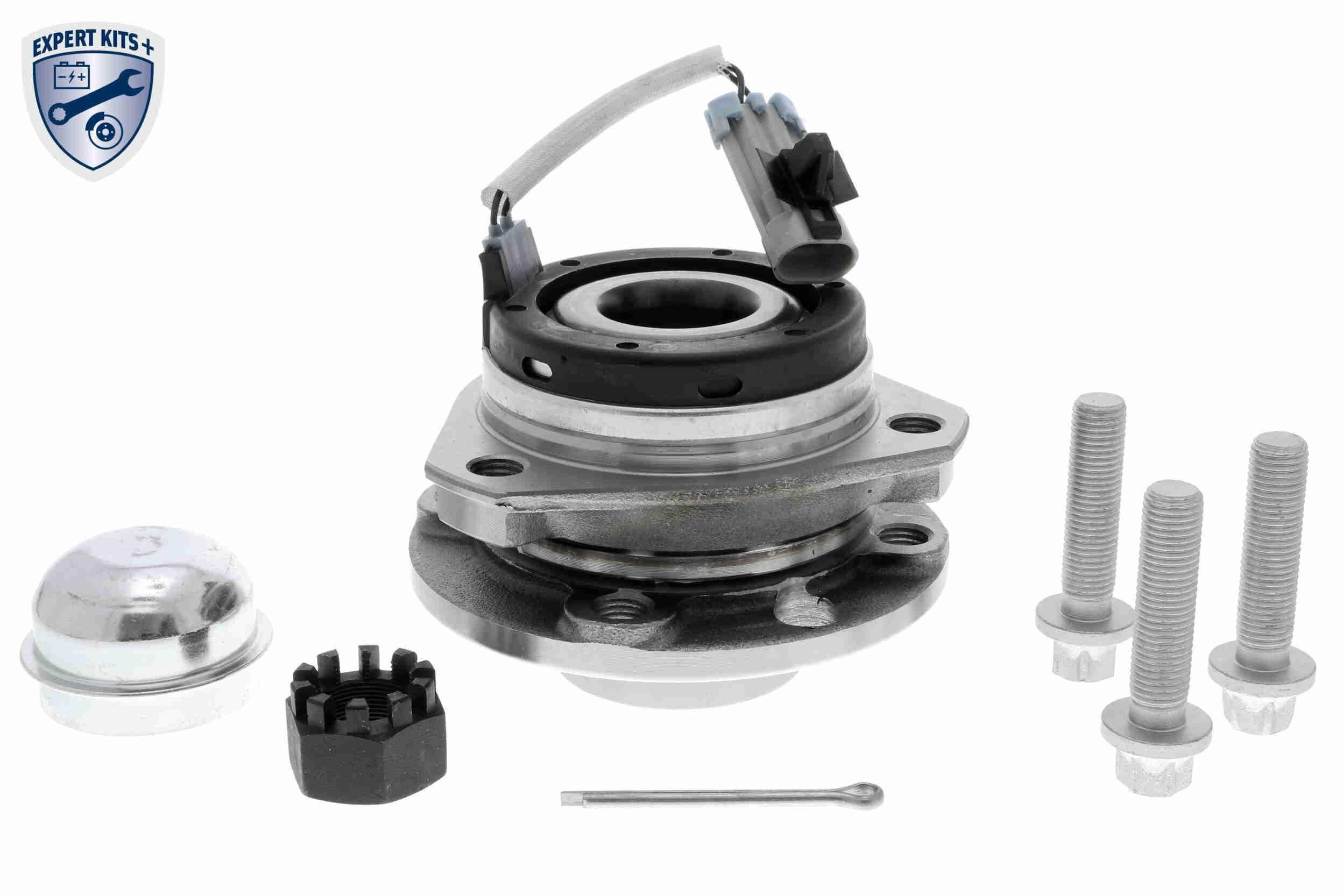 Купете V40-7004 VAICO предна ос, CST98, с интегриран магнитен сензорен пръстен Ø: 119мм, вътрешен диаметър: 28мм Комплект колесен лагер V40-7004 евтино