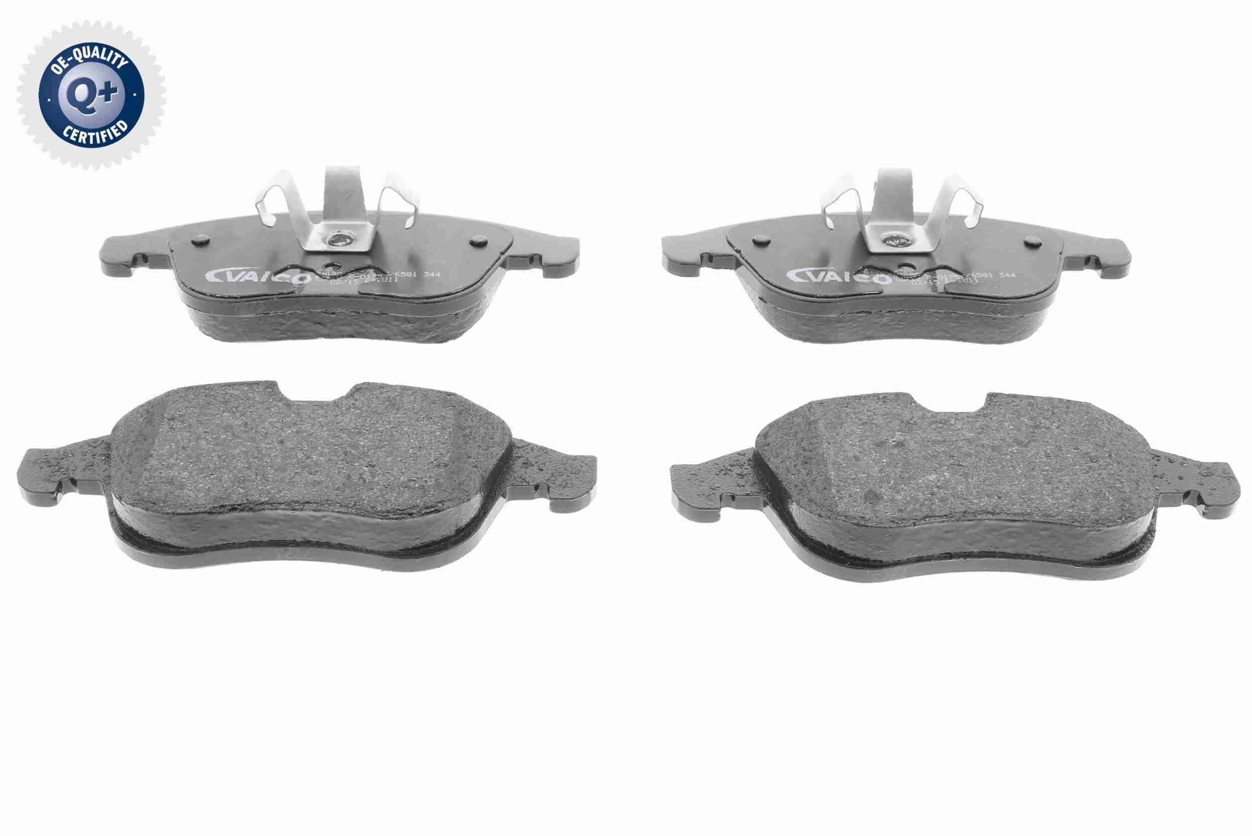 V46-0137 VAICO Q+, Erstausrüsterqualität, Vorderachse, nicht für Verschleißwarnanzeiger vorbereitet Höhe 2: 68,7mm, Höhe: 63,5mm, Dicke/Stärke 2: 18mm, Dicke/Stärke: 18mm Bremsbelagsatz, Scheibenbremse V46-0137 günstig kaufen