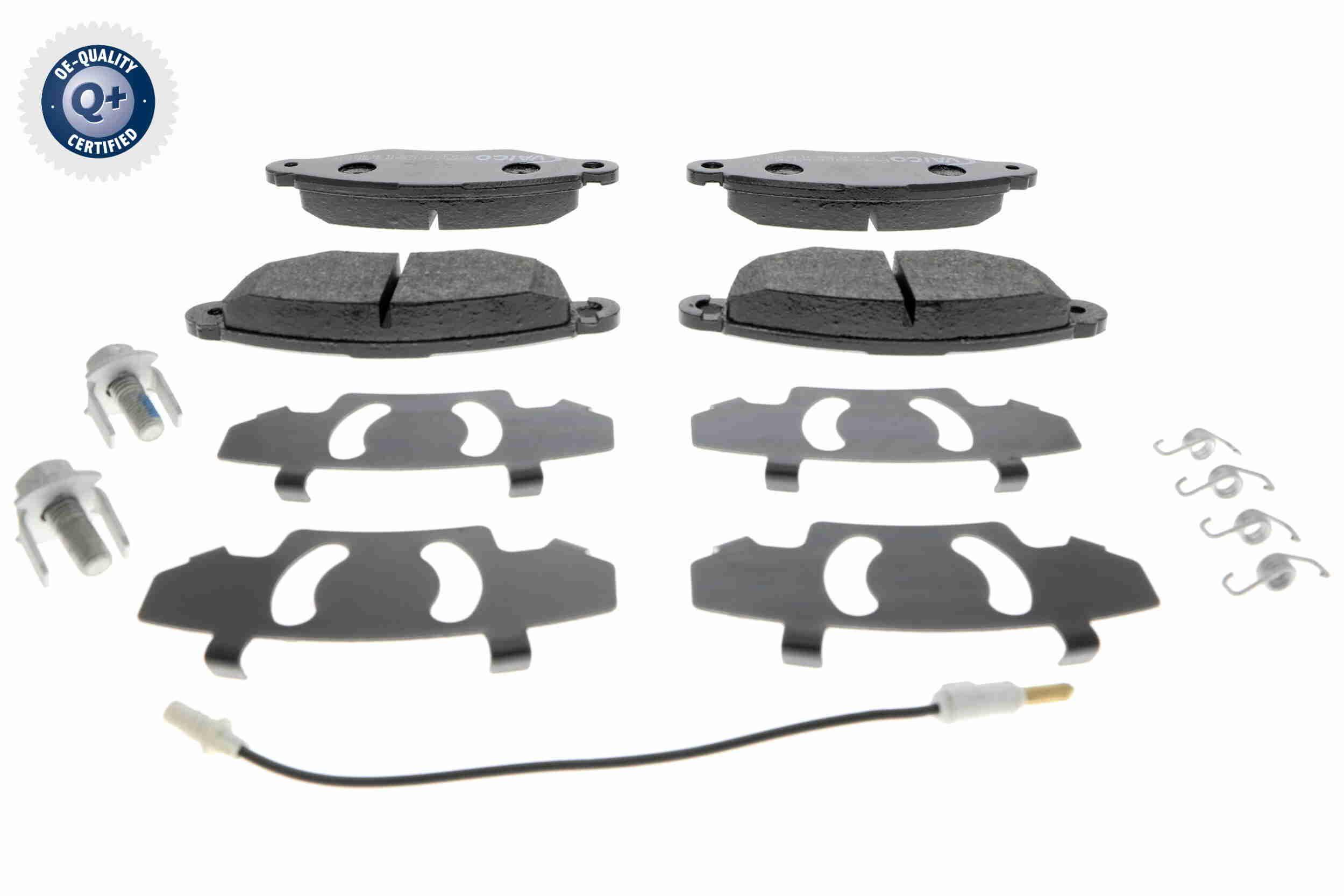 Bremsbelagsatz Scheibenbremse VAICO V46-0152
