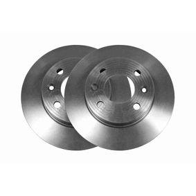 V46-40001 VAICO Original VAICO Qualität, Vorderachse, Voll Ø: 238mm, Felge: 4-loch, Bremsscheibendicke: 12mm Bremsscheibe V46-40001 günstig kaufen