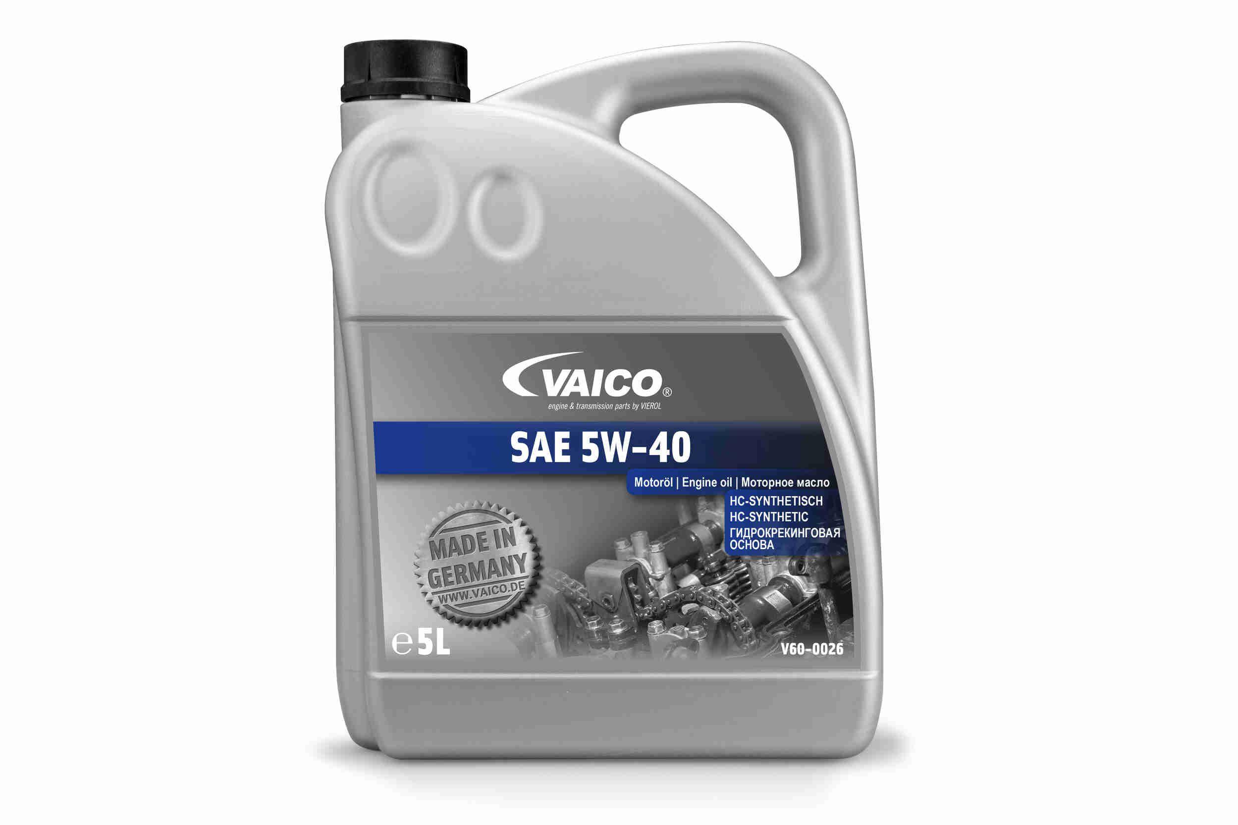 V60-0026 motor ol VAICO - Markenprodukte billig