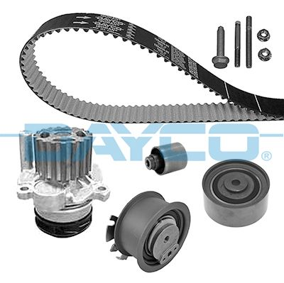 DAYCO Water pump and timing belt kit KTBWP4410