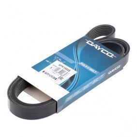 Kupi 6x1580 DAYCO Stevilo reber: 6, Dolzina: 1580,0mm Rebrasti jermen 6PK1580S poceni