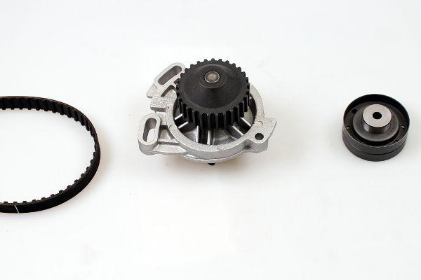 AUDI 200 1984 Wasserpumpe + Zahnriemensatz - Original HEPU PK05340 Breite: 19mm