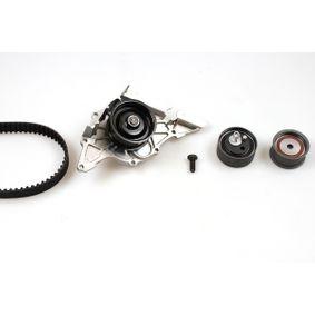 P544 HEPU ohne Spannarm, Spannrolle, ohne Spanndämpfer, Spannrolle, Zähnez.: 253 Breite: 30mm Wasserpumpe + Zahnriemensatz PK05441 günstig kaufen
