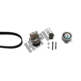 P551 HEPU Teeth Quant.: 120 Width: 30mm Water Pump & Timing Belt Set PK05510 cheap