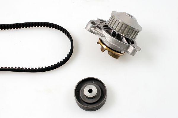 AUDI 200 1988 Wasserpumpe + Zahnriemensatz - Original GK K980145A Breite: 18mm