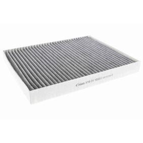 V10-31-1033 VEMO Original VEMO Qualität Aktivkohlefilter Breite: 219mm, Höhe: 30mm, Länge: 278mm Filter, Innenraumluft V10-31-1033 günstig kaufen