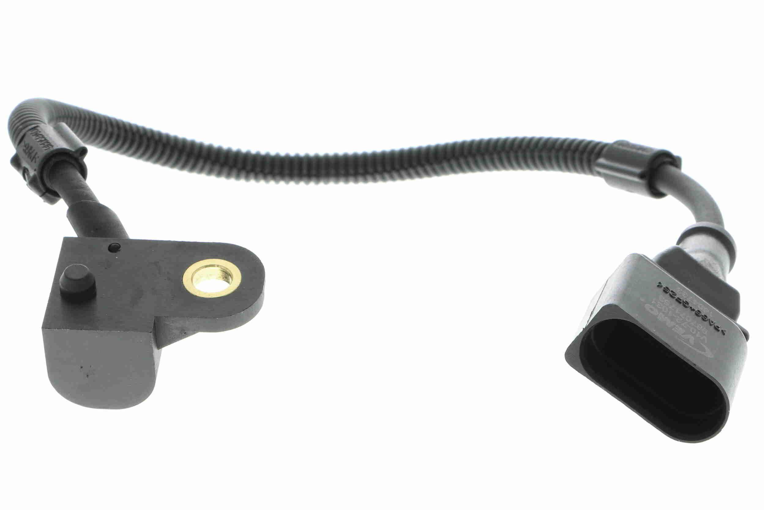 VEMO: Original Impulsgeber Nockenwelle V10-72-1031 (Anschlussanzahl: 3, Pol-Anzahl: 3-polig, Kabellänge: 330, 445mm)