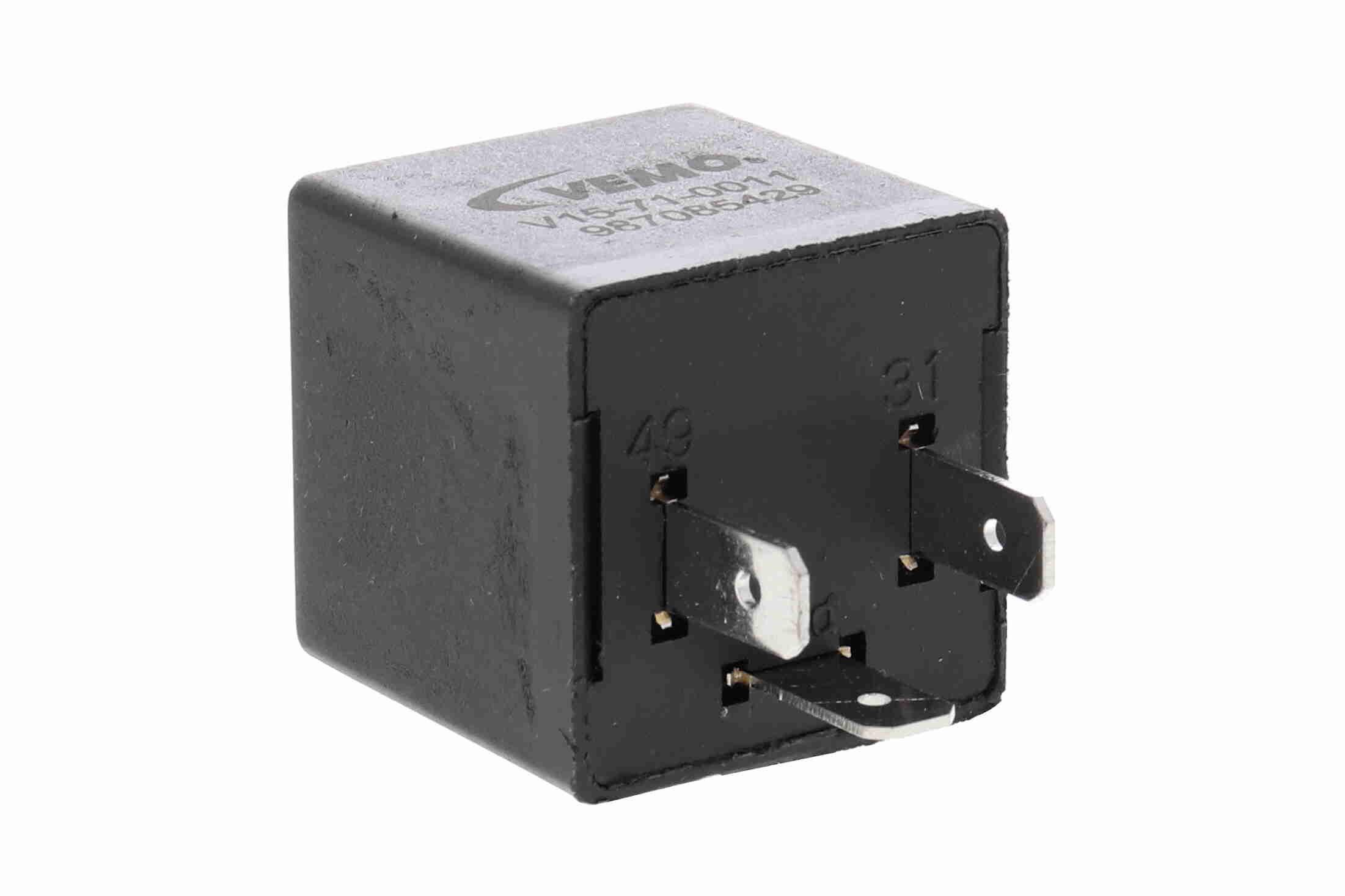 Pieces detachees VOLKSWAGEN KARMANN GHIA 1967 : Centrale clignotante VEMO V15-71-0011 - Achetez tout de suite!