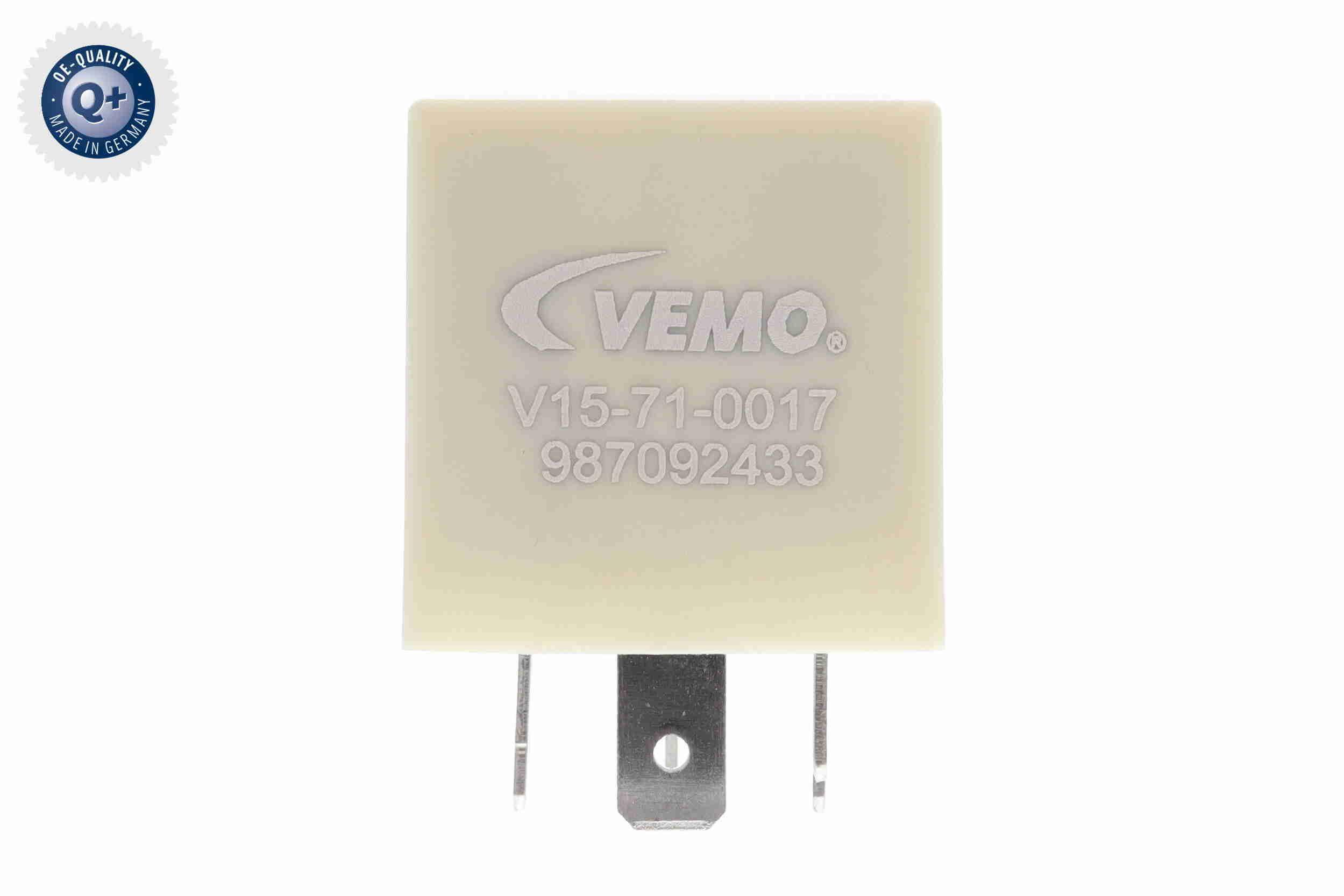 Relais, Kraftstoffpumpe V15-71-0017 von VEMO