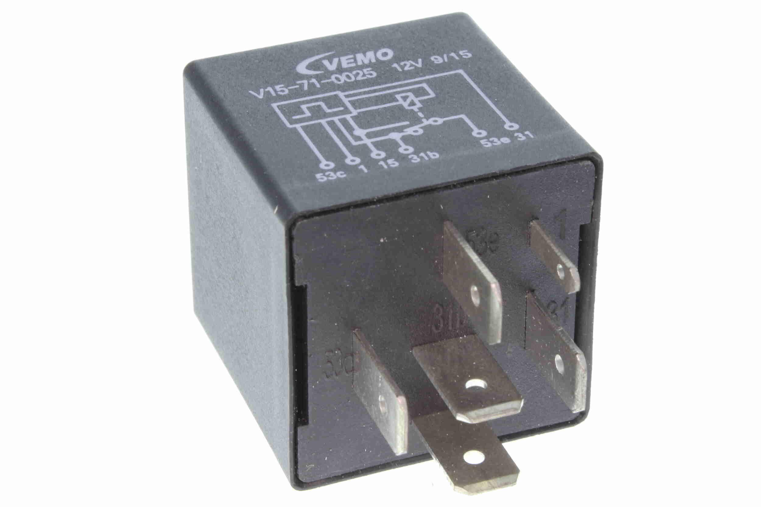 Relais, ruitenwisserregelinterval VEMO V15-71-0025 Beoordelingen