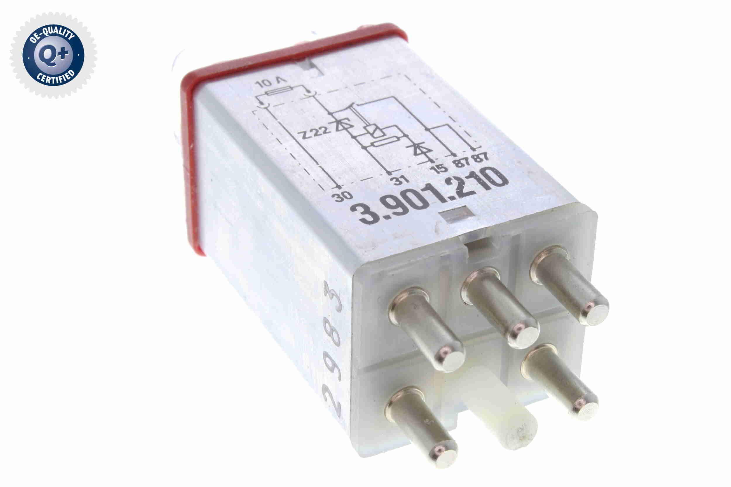 NISSAN QASHQAI Überspannungsschutzrelais, ABS - Original VEMO V30-71-0012