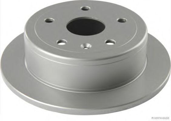 J3310906 HERTH+BUSS JAKOPARTS Voll, beschichtet Ø: 258mm, Lochanzahl: 5, Bremsscheibendicke: 10mm Bremsscheibe J3310906 günstig kaufen