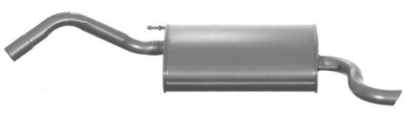 Endschalldämpfer FORD Fiesta Mk4 (J3S, J5S) universal und sport 2014 - VEGAZ FS-403 (Länge: 1120mm, Länge: 1120mm)
