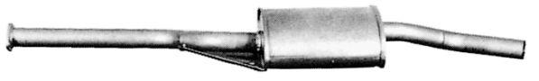 MERCEDES-BENZ Baureihe 124 1989 Mittelschalldämpfer Attrappe - Original VEGAZ MS-44