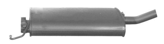 MERCEDES-BENZ ML-Klasse 1999 Mitteltopf - Original VEGAZ MS-272IMA