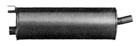 Original MERCEDES-BENZ Mittelschalldämpfer ME.92.06