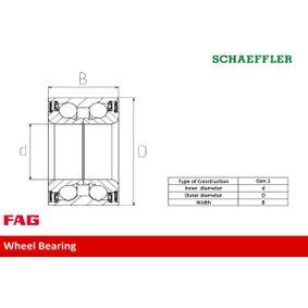 713 6303 00 Radlagersatz FAG - Markenprodukte billig