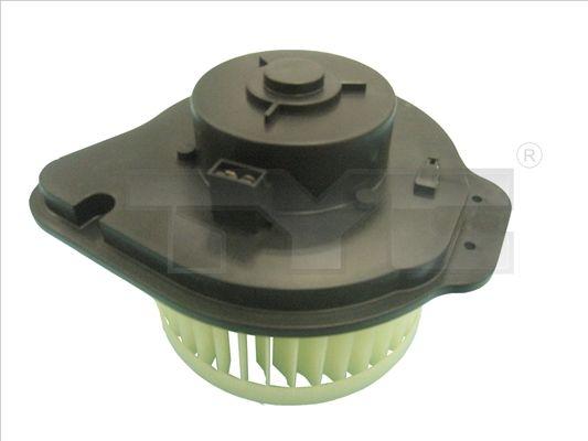 VOLVO V50 Innenraumgebläse - Original TYC 538-0001 Spannung: 13,5V, Nennleistung: 284W, Anschlussanzahl: 2