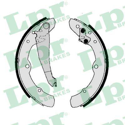 00150 LPR Ø: 230mm, mit Handbremshebel Breite: 40mm Bremsbackensatz 00150 günstig kaufen