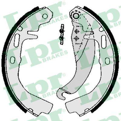 Original OPEL Bremsklötze für Trommelbremse 02500