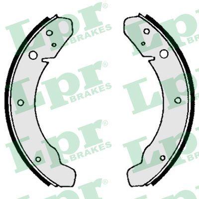 PORSCHE 912 Bremsbacken für Trommelbremse - Original LPR 03890 Breite: 40mm