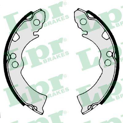 Original ALFA ROMEO Bremsbacken für Trommelbremse 04300