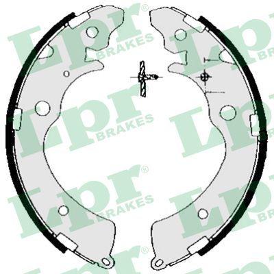 LPR: Original Bremsbackensatz 05690 (Breite: 36mm)