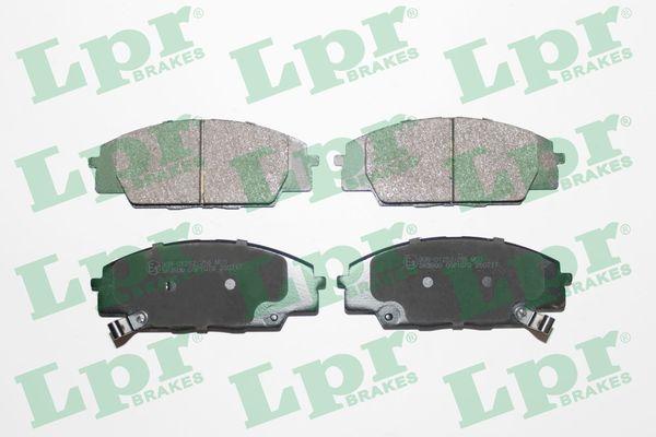 LPR Bremsbelagsatz, Scheibenbremse 05P1070