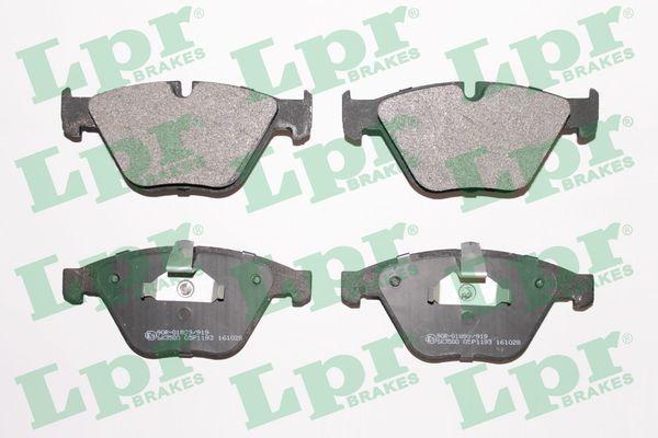 05P1193 LPR Höhe: 68,5mm, Breite: 155,1mm, Dicke/Stärke: 20,3mm Bremsbelagsatz, Scheibenbremse 05P1193 günstig kaufen
