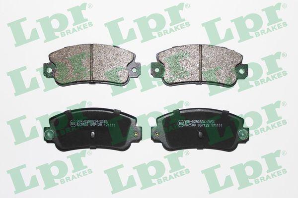 Achetez Kit de plaquettes de frein LPR 05P128 (Hauteur: 49mm, Largeur: 109mm, Épaisseur: 14mm) à un rapport qualité-prix exceptionnel