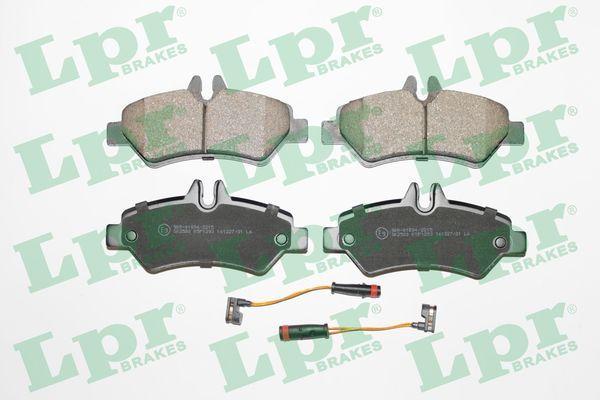 LPR Zestaw klocków hamulcowych, hamulce tarczowe 05P1293